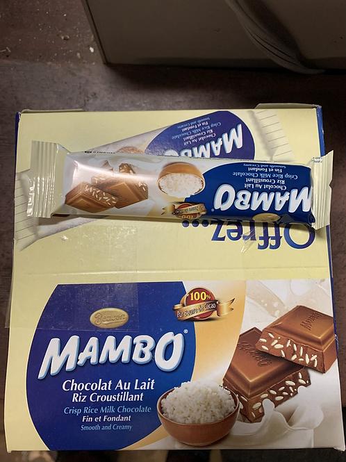 Chocolat au lait Mambo ( paquets de 20)