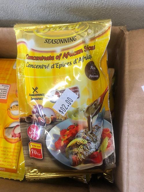 Concentré d'épices d'Afrique