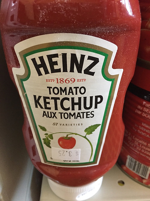 Ketchup aux tomates