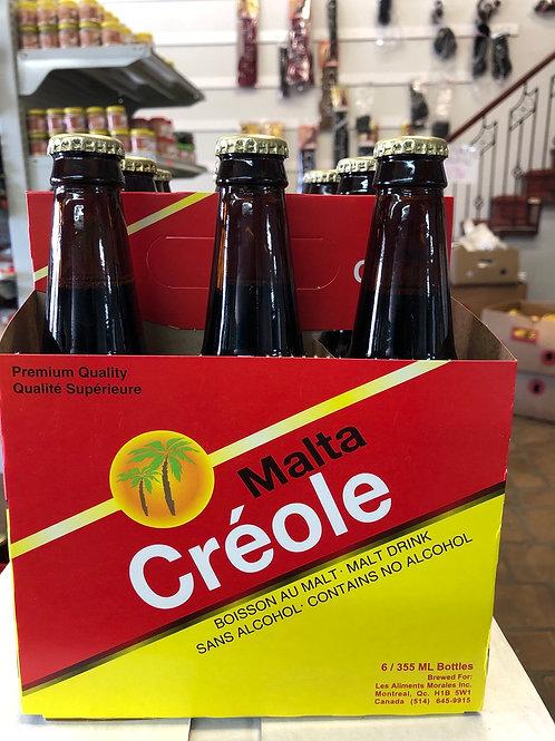 Malta créole pack de 6x 355ml