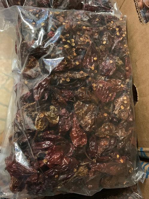 Piment rouge sec du Cameroun