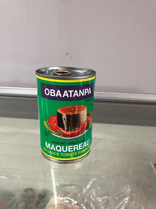 Maquereau sauce tomate pimentée