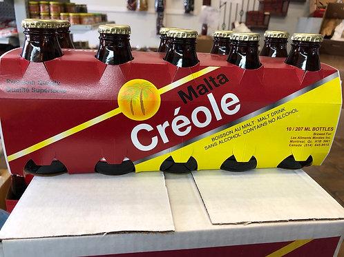 Malta créole pack de 6x207ml