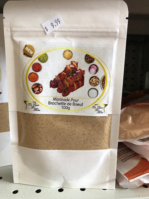 Epice du Mboa marinade bœuf