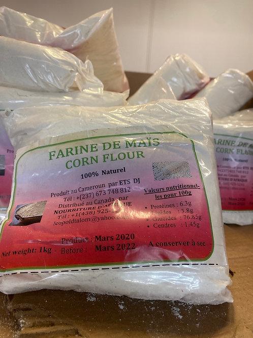 Farine de maïs blanc Cameroun 1kg