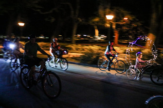 Midnight Bike Ride by Hunter Scully