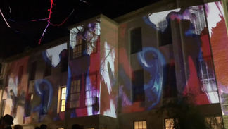 Beaux Art Ball Projection 2019