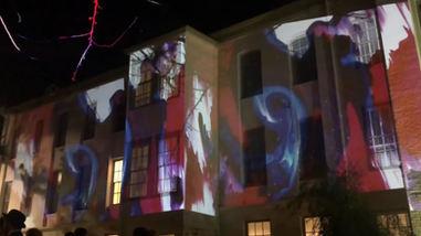 Beaux Art Ball Projection 2019