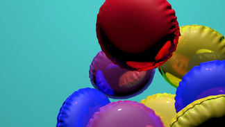 Jeff Koons Inspired Balloons