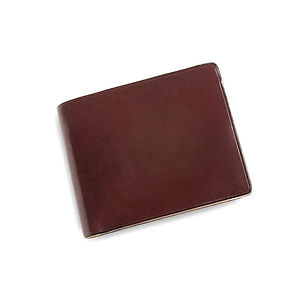 IL BUSSETTO Bi-Fold Wallet with Coin Pocket