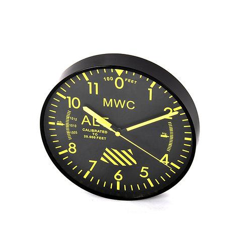MWC Altimeter Wall Clock