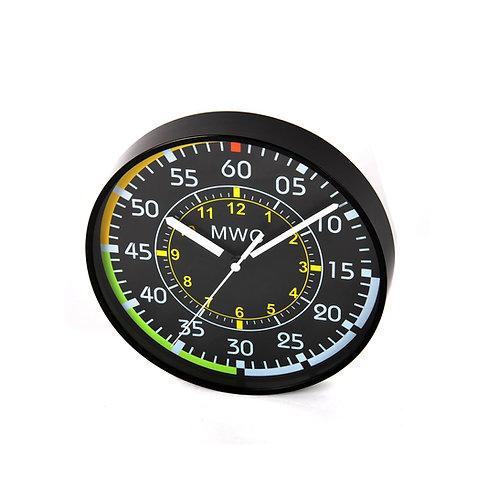 MWC Aircraft Instrument Airspeed Indicator Wall Clock