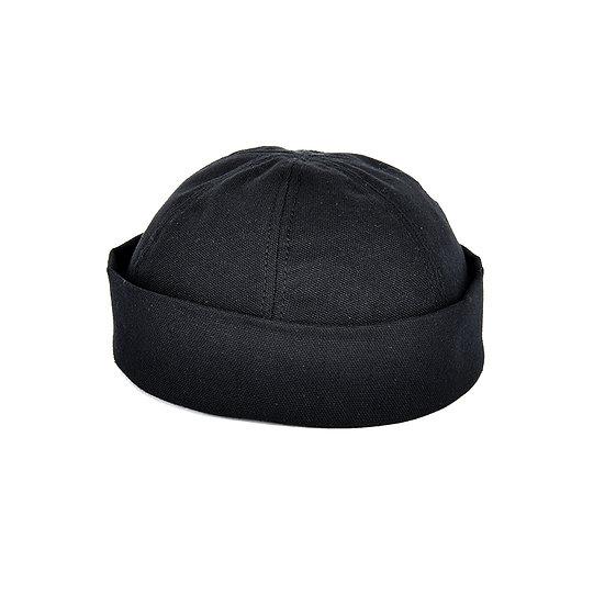 紐約帽子帆布暴徒黑色