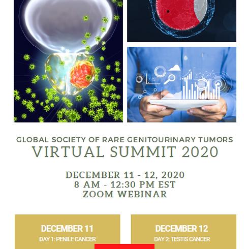 1st Global Summit on Rare Genitourinary Tumors (Virtual)