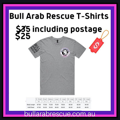 Bull Arab Rescue Crew Neck T-shirt