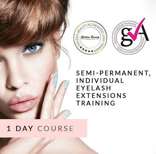 Semi-Permanent, Individual Eyelash Extensions Training (1 day course)