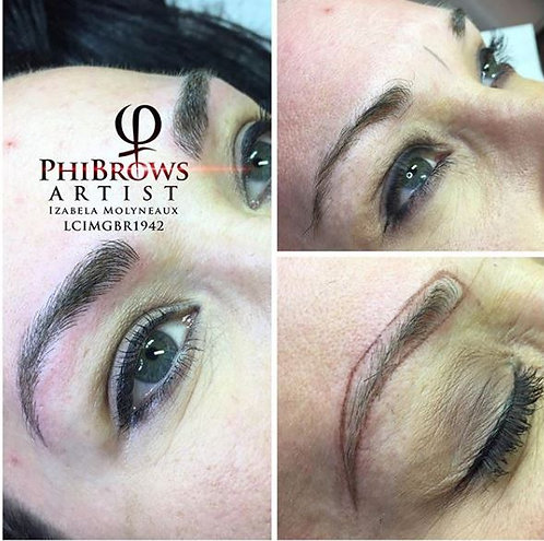 Book a New Appointment -  Microblading Eyebrow Touch up | After 1 year