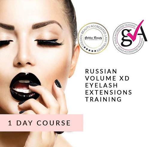 Russian Volume XD Eyelash Extensions Training (1-day course)