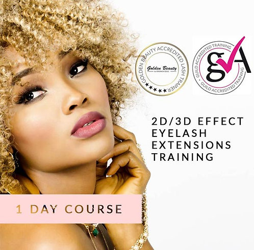2D/3D Effect Eyelash Extensions Training (1-day course)