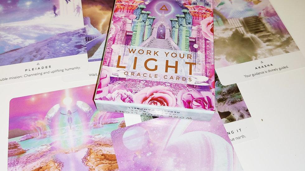 קלפי מסרים עבודת האור