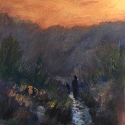 Walking Home at Sundown