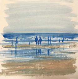 Beach sketch II