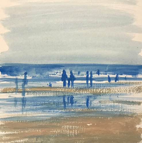 Quick Little Beach Sketch