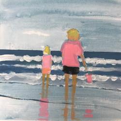 Pink on Sea
