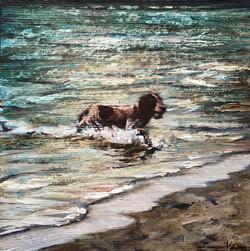 Walkies in the Water