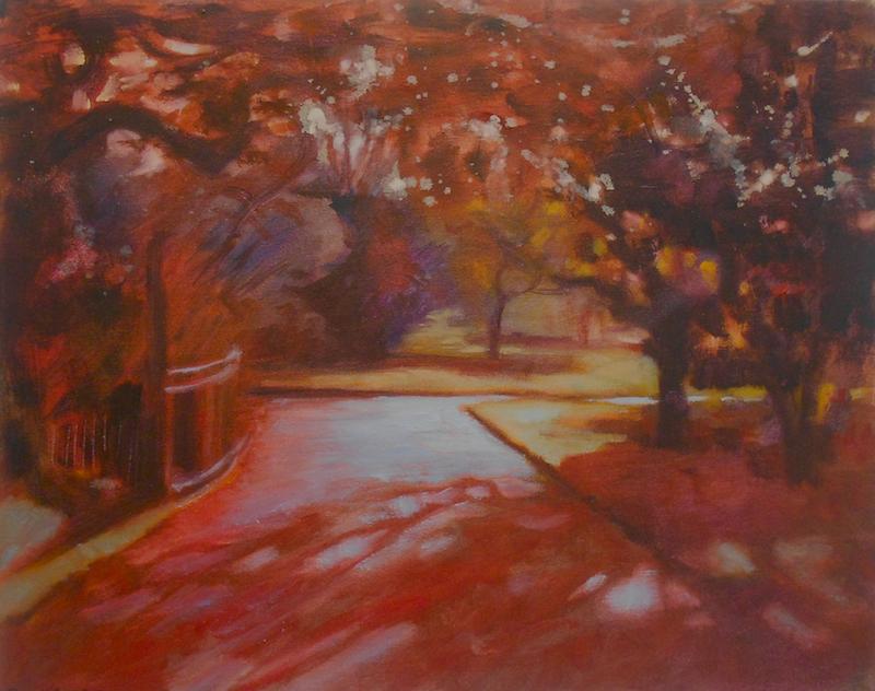 Kew Gardens in Red