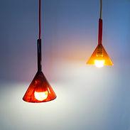 luzilda, lámpara de cristal esmaltada de nachomonterodesign madrid españa