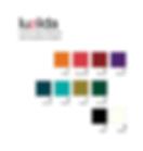 luzilda lámpara de cristal esmaltada carta de colores nachomonterodesign
