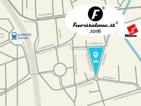 Disloque en Fuorisalone 2016                    Feria del mueble de Milan