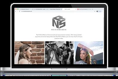 Rize N Sine Website.png
