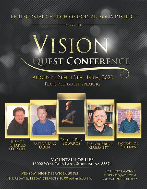 Gospel Vision Quest August 2020  8.5x11