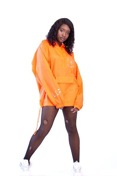 Apparel Store Luxury Orange wind Breaker
