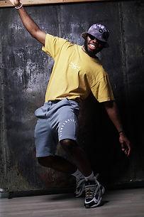 Man Posing in Philadelphia Apparel