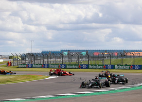 F1: Hamilton wins British GP despite last-lap puncture