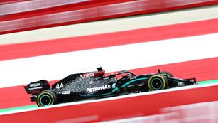 F1: Mercedes dominance in Austria continues as Hamilton tops FP2