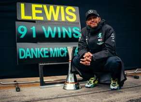 F1: Hamilton equals Schumacher's win record with Eifel GP victory