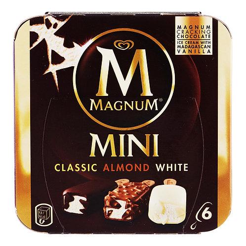 Magnum Mini Ice Cream - Classic, Almond & White 6 x 60ml