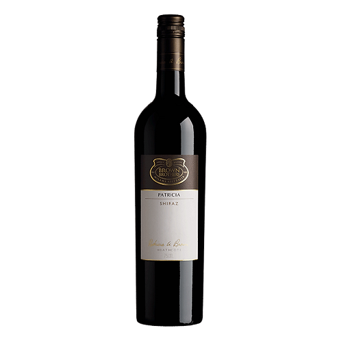BROWN BROTHERS Patricia Shiraz 2012 (Limited Quantity) 75cl