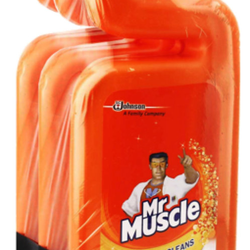 Mr Muscle Toilet Cleaner Citrus Value Pack 3 x 500ml