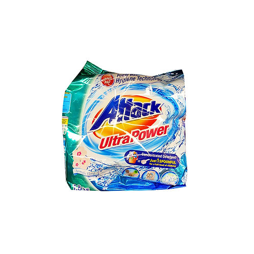Attack Powder Detergent - Ultra Power (Aromatic Floral) 1.6kg