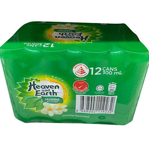 Heaven & Earth Can Drink - Jasmine Green Tea 12 x 300ml