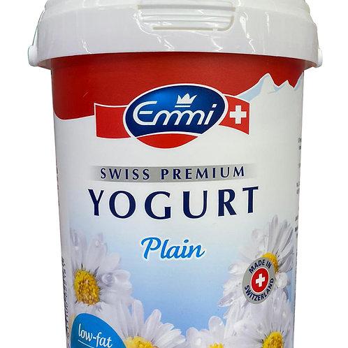 Emmi Swiss Premium Low Fat Yogurt - Plain 1kg