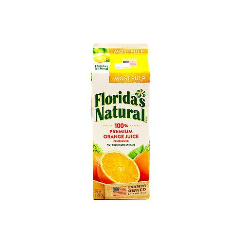 Florida's Natural 100% Orange Juice - Most Pulp 1.5L