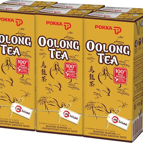 Pokka Packet Drink - Oolong Tea (No Sugar Added) 6 x 250ml