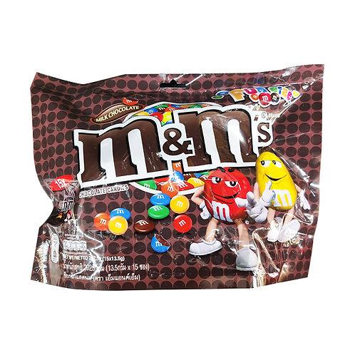M&M's Chocolate Candies - Milk (Funsize) 202.5g (15 per pack)