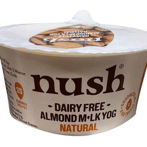 Nush Vegan Natural Almond Dairy Free Yoghurt 120g